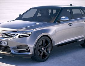 Generic Luxury SUV 2019 3D model