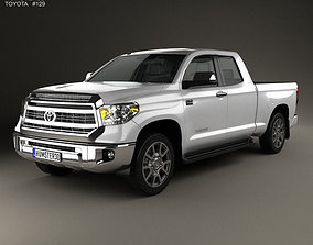 3D model Toyota Tundra Double Cab 2013