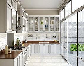 vray 3D model Kitchen