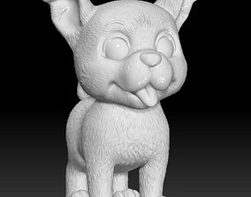 Little dog for 3d print