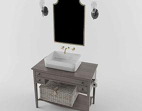 Loft bathroom 3D model