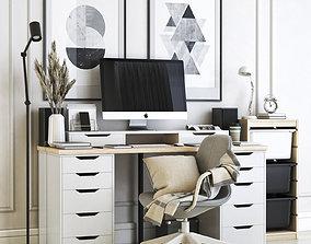 3D model Office workplace 21
