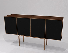 30s style sideboard h108 w200 d55 cms 3D