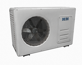 3D asset realtime Air conditioner