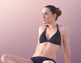 Juliette 10828 -Sitting Bikini Girl 3D model