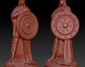3D print model Warrior soldier