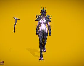 3D asset RPG Queen Triton