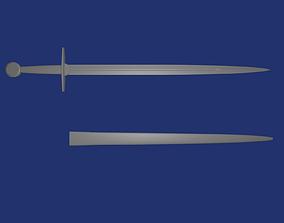 Arming Sword 3D print model