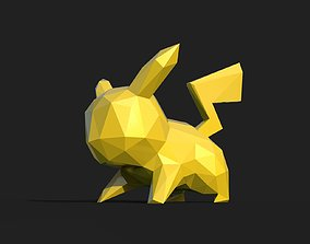 3D print model Pikachu Low Poly