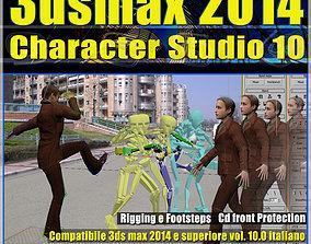 animated 3ds max 2014 Character Studio v 10 Italiano cd