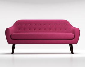 3D model Sofa Ritchie purple
