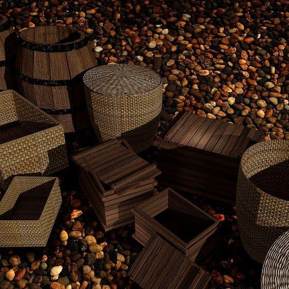 Barrel Box Basket