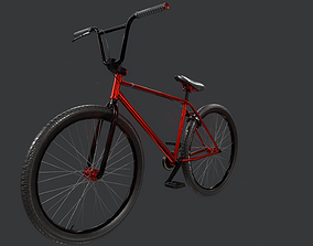 Bicycle BPR LowPoly 3D asset