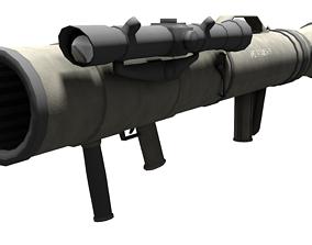 3D asset M3 Carl Gustav Recoiless Anti Armour RIfle MAAWS
