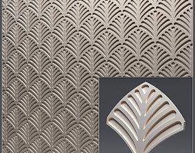 Gypsum 3D panel 38