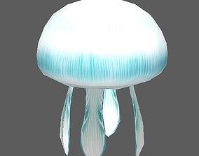 Jellyfish 3D asset rigged