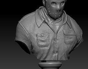 3D printable model Jason Friday the 13th Bust