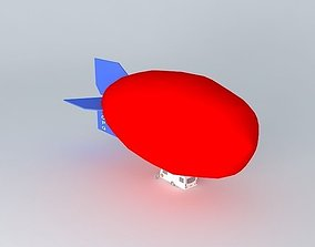 3D model Caravan Airship