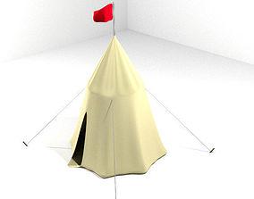 3D model Tent - Umbrella