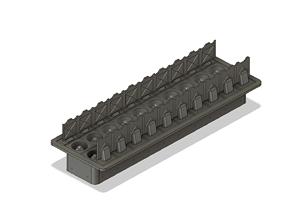 3D printable model Missle Launcher Open Hatches