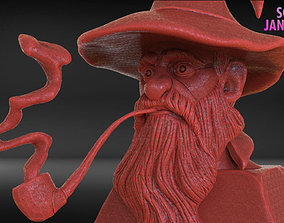 Stylized Gandalf Timelapse and Model