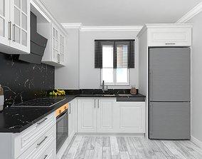 MODERN WHITE KITCHEN kitchen 3D model