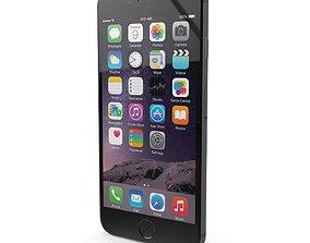 Apple iPhone 6 Plus Space Gray 3D model