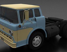 3D asset C-600 Semi Truck 1957
