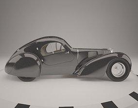 3D model 1936 bugatti type 57sc