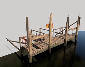 Wooden Port 3D