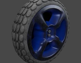 wheel v2 3D