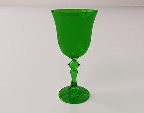 Wine Glass V3 3D model
