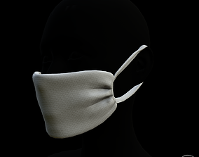 Diy corona protection mask 3D model