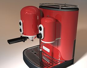 3D model coffee machine kitchen aid