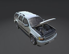 3D model Game Ready Real Car 2