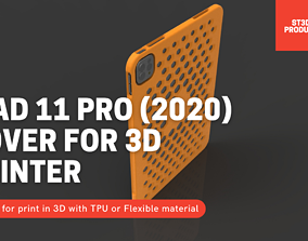 Cover hexagon for iPAD 11 pro 2020 in TPU 3D print model