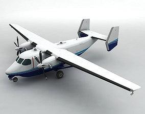 3D asset realtime PZL M-28 Skytruck Aircraft