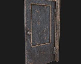 detail Old door 3D