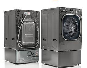 LG Twinwash WM4370HKA 3D model