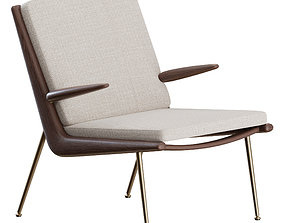 Boomerang Armchair by and Tradition 3D model