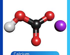 Bleaching Powder 3D Model Calcium hypochlorite Ca ClO2