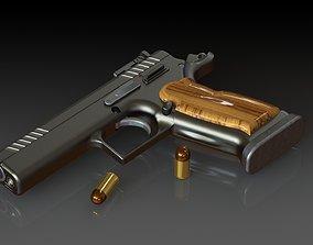 bladed-weapon 45acp Semi-Automatic Pistol 3D model