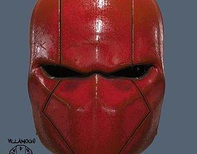diy Red Hood Helmet Batman 3D print model