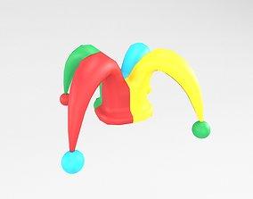 Jester hat v1 003 3D asset
