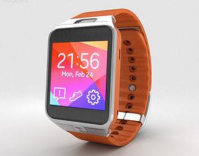 3D Samsung Galaxy Gear 2 Orange