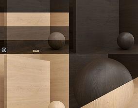 Wood material Oak seamless 3D