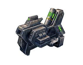 3D Machinery - Guns 06