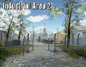 3D model Industrial area 2
