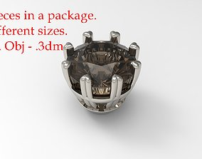 3D print model Jewelry Prong Head Set 2