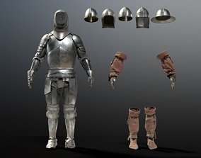 3D SOLDIER Medieval Knight
